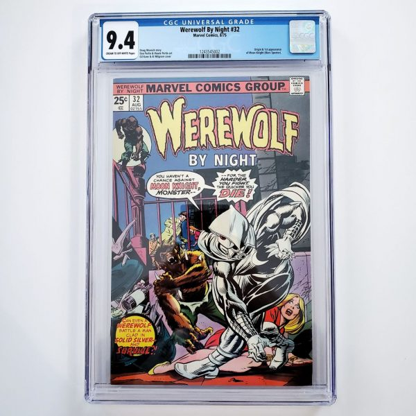 Werewolf By Night #32 CGC 9.4 NM Front