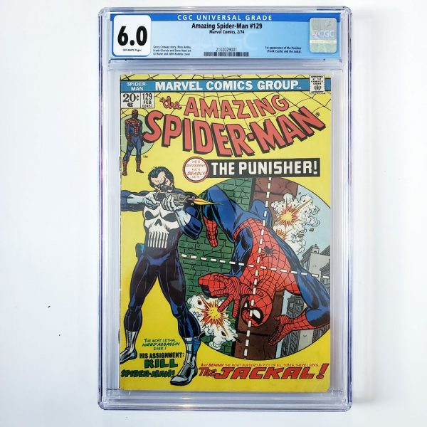 Amazing Spider-Man #129 CGC 6.0 FN Front