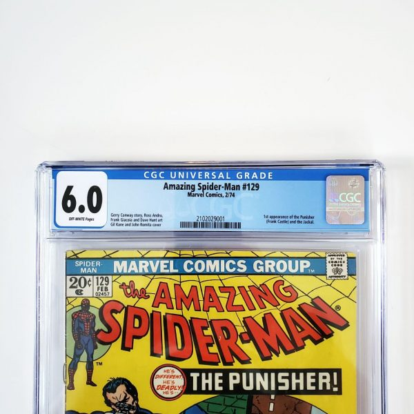 Amazing Spider-Man #129 CGC 6.0 FN Front Label