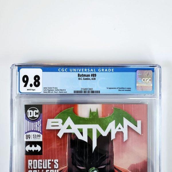 Batman #89 CGC 9.8 NM/M Front Label