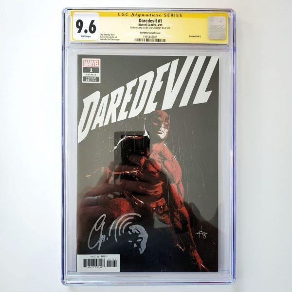 Daredevil (2019) #1 CGC SS 9.6 NM+ Dell'Otto Variant Front