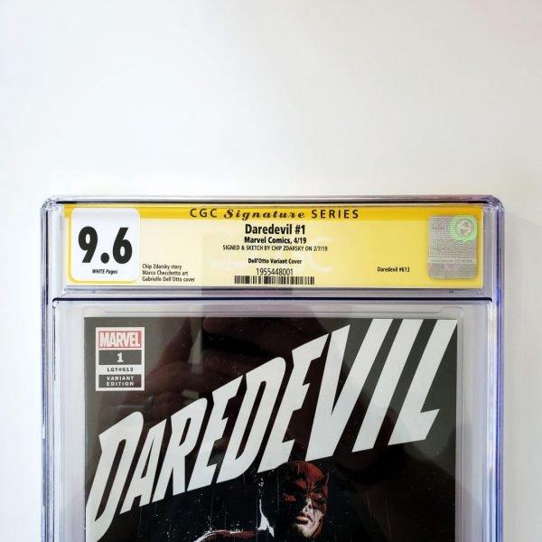 Daredevil (2019) #1 CGC SS 9.6 NM+ Dell'Otto Variant Front Label