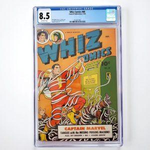 Whiz Comics #60 CGC 8.5 VF+ Front