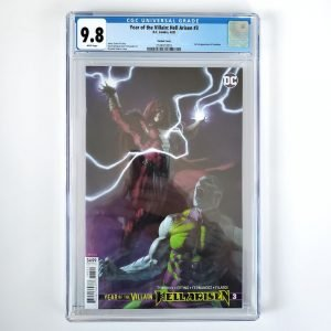 Year of the Villain: Hell Arisen #3 CGC 9.8 NM/M Front Federici Variant Front
