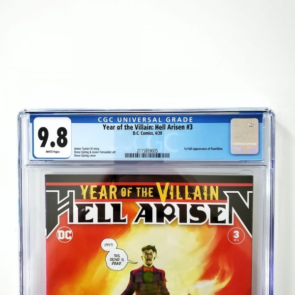 Year of the Villain: Hell Arisen #3 CGC 9.8 NM/M Front Label