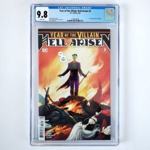 Year of the Villain: Hell Arisen #3 CGC 9.8 NM/M Front
