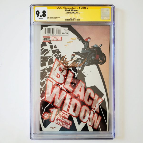 Black Widow (2016) #1 CGC SS 9.8 NM/M Front