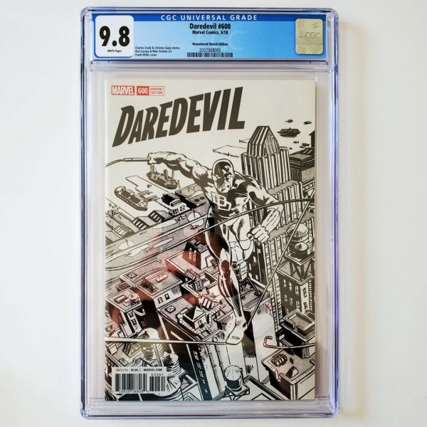 Daredevil #600 CGC 9.8 NM/M Remastered Sketch Variant Front