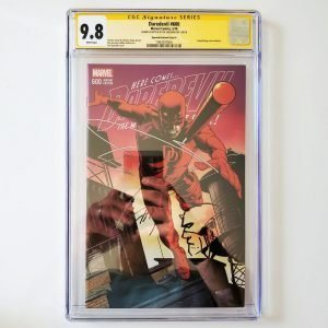 Daredevil #600 CGC SS 9.8 NM/M Quesada Variant A Front
