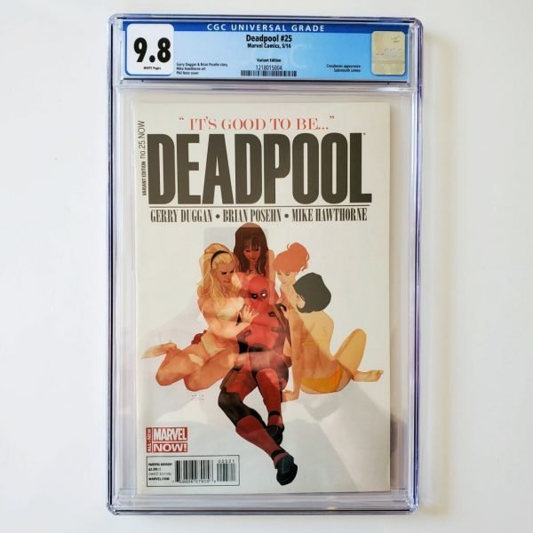 Deadpool #25 CGC 9.8 NM/M Variant Front