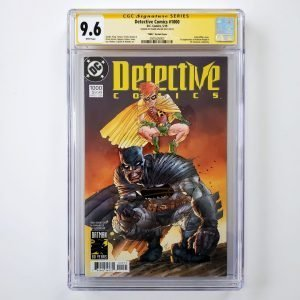 Detective Comics #1000 CGC 9.6 1980's Variant Signed by Frank Miller Front