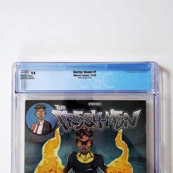 Doctor Doom #1 CGC 9.8 NM/M Ditko Hidden Gem Variant Back Label
