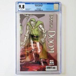 Doctor Doom #1 CGC 9.8 NM/M Ditko Hidden Gem Variant Front
