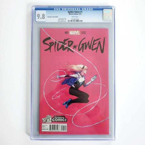 Spider-Gwen #1 CGC 9.8 NM/M Yesteryear Comics Variant Front