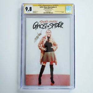 Spider-Gwen: Ghost Spider #1 CGC SS 9.8 NM/M Mayhew Variant A Front