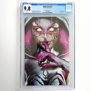 Spider-Verse #1 CGC 9.8 NM/M Horn Variant B Front
