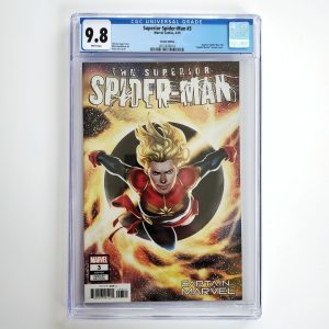 Superior Spider-Man #3 CGC 9.8 NM/M Captain Marvel Variant Front