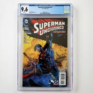 Superman Unchained #2 CGC 9.6 NM+ Front