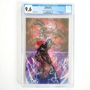 Thanos #15 CGC 9.6 NM+ 4th Print Unknown Comics Variant Front