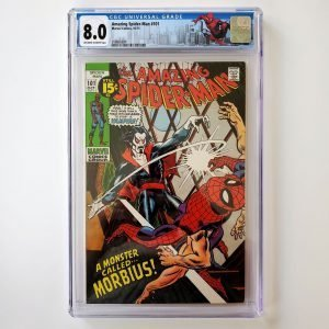 Amazing Spider-Man #101 CGC 8.0 VF Front