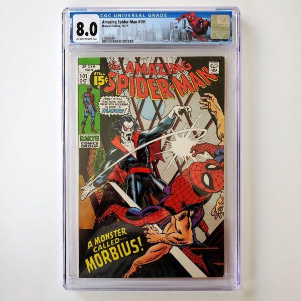 Amazing Spider-Man #101 CGC 8.0 VF Front