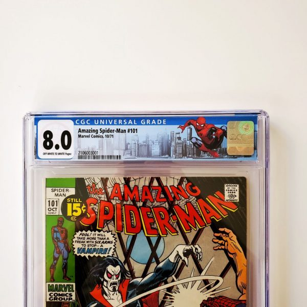 Amazing Spider-Man #101 CGC 8.0 VF Front Label