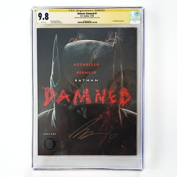 Batman: Damned #1 CGC SS 9.8 NM/M Front