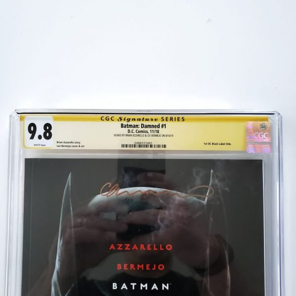 Batman: Damned #1 CGC SS 9.8 NM/M Front Label