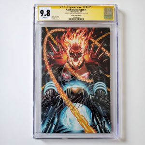 Cosmic Ghost Rider #1 CGC SS 9.8 NM/M Brooks Virgin Variant Front