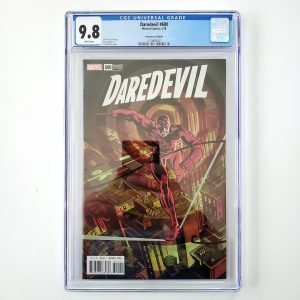 Daredevil #600 CGC 9.8 NM/M Remastered Variant Front