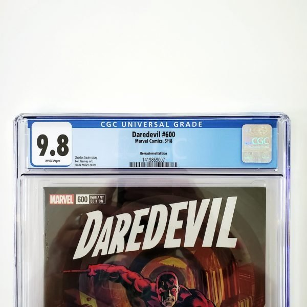 Daredevil #600 CGC 9.8 NM/M Remastered Variant Front Label