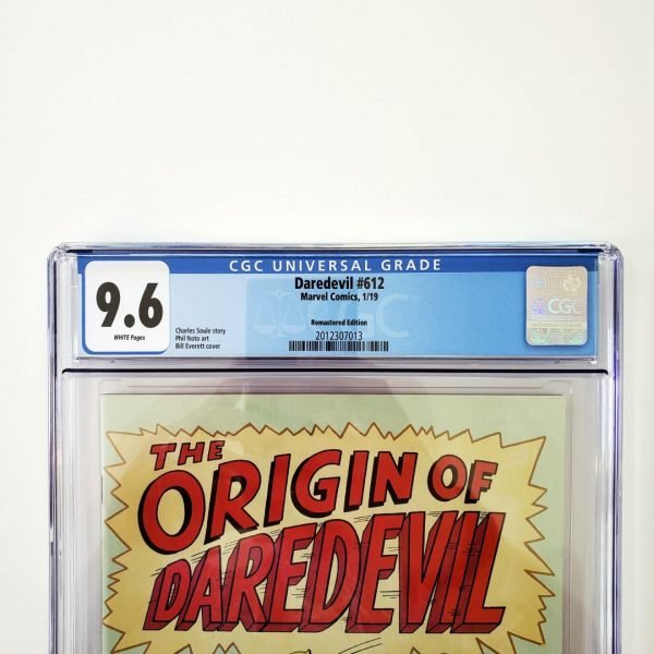 Daredevil #612 CGC 9.6 NM+ Remastered Variant Front Label