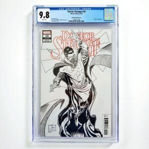 Doctor Strange #10 CGC 9.8 NM/M Quesada Sketch Variant Front