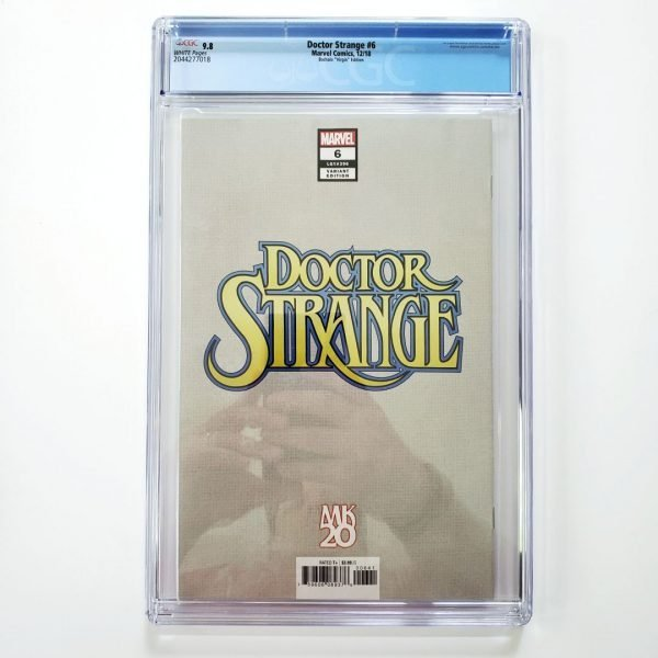 Dr. Strange #6 CGC 9.8 NM/M Bachalo Virgin Variant Back