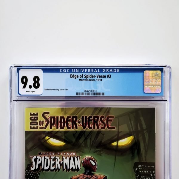 Edge of Spider-Verse #3 CGC 9.8 NM/M Front Label