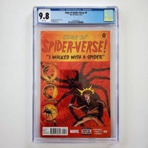 Edge of Spider-Verse #4 CGC 9.8 NM/M Front