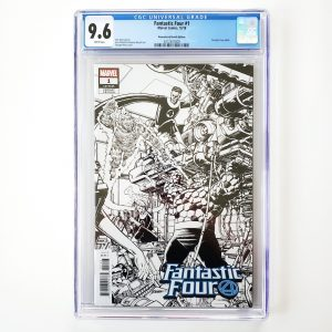 Fantastic Four #1 CGC 9.6 NM+ Remastered Sketch Variant Front