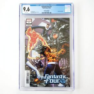 Fantastic Four #1 CGC 9.6 NM+ Remastered Variant Front