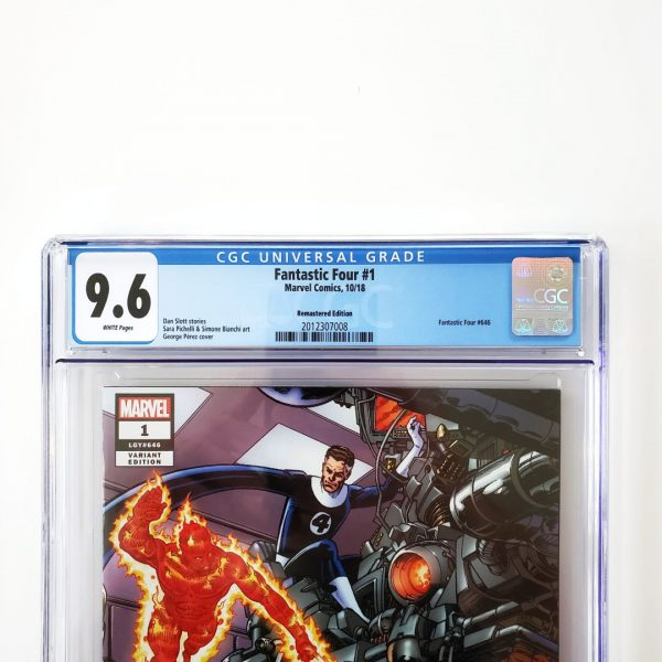 Fantastic Four #1 CGC 9.6 NM+ Remastered Variant Front Label