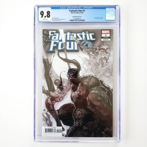 Fantastic Four #1 CGC 9.8 NM/M Bianchi Sketch Variant Front