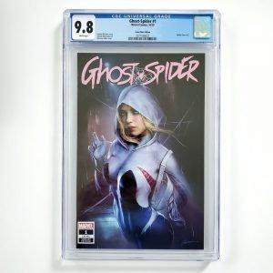 Ghost-Spider #1 CGC 9.8 NM/M Comic Mint Variant Front