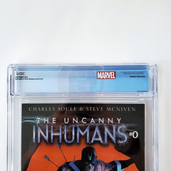Hulk (2014) #13 CGC 9.4 NM Back Label