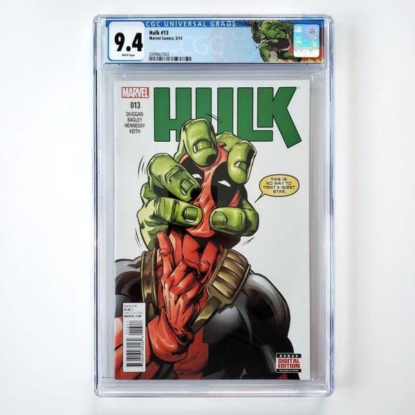 Hulk (2014) #13 CGC 9.4 NM Front