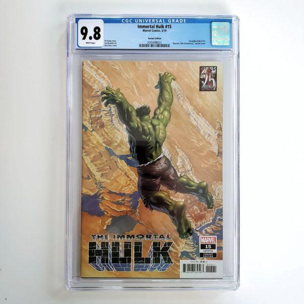 Immortal Hulk #15 CGC 9.8 NM/M Marvels 25th Anniversary Variant Front