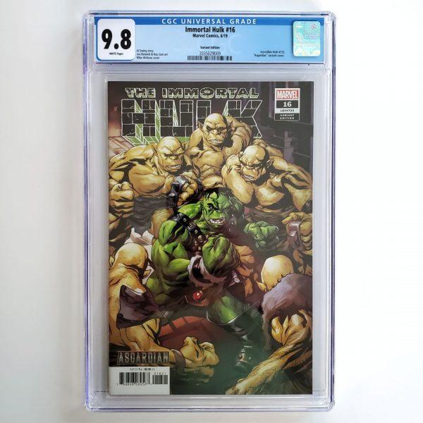 Immortal Hulk #16 CGC 9.8 NM/M Asgardian Variant Front