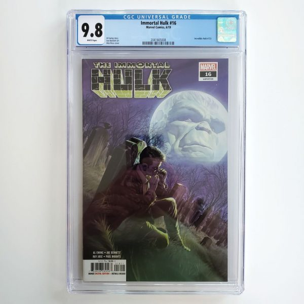 Immortal Hulk #16 CGC 9.8 NM/M Front