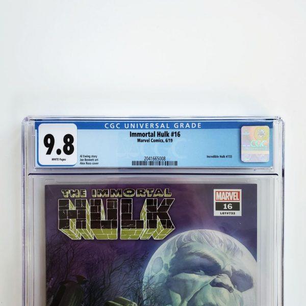 Immortal Hulk #16 CGC 9.8 NM/M Front Label