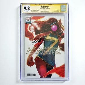 Ms. Marvel (2018) #31 CGC SS 9.8 NM/M Variant Front
