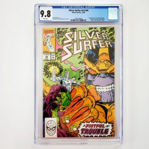 Silver Surfer (Vol. 3) #44 CGC 9.8 NM/M Front