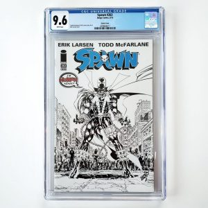 Spawn #263 CGC 9.6 NM+ Sketch Variant Front